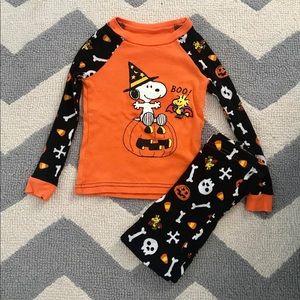Snoopy Halloween Pajamas size 4T